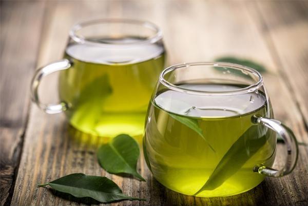 trà xanh chống lão hóa da