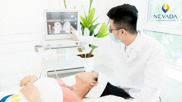 phương pháp trẻ hóa da Ultherapy là liệu trình thực hiện cực ngắn