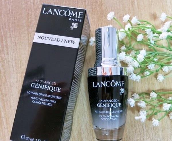 review serum lancome có tốt không, serum lancome review, review lancome, serum của lancome, review serum của lancome, mỹ phẩm lancome review, review serum lancome genifique