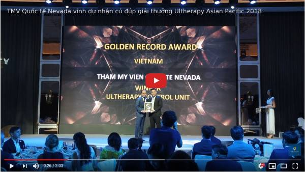 TMV Nevada nhận giải Golden Record Award Asian Pacific