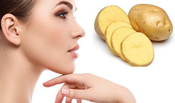 làm đẹp da mặt bằng khoai tây