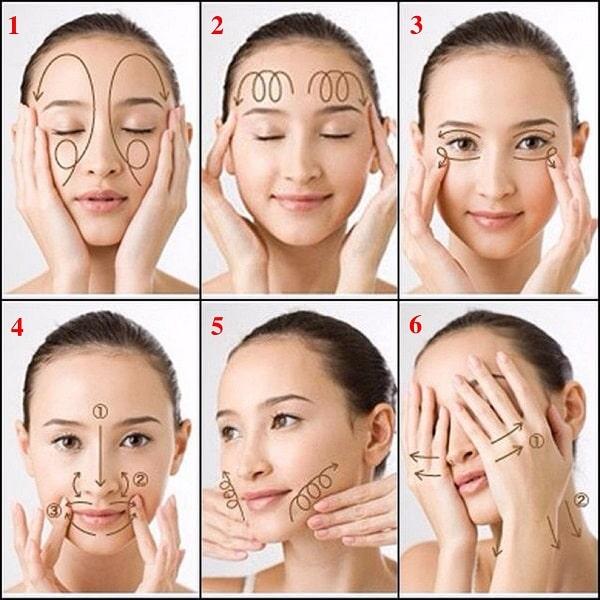Cách làm hết nếp nhăn ở đuôi mắt
