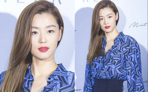 Jeon Ji Hyun chống lão hóa da
