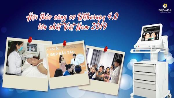 Hội Thảo Nâng Cơ Trẻ Hóa Da Ultherapy 2019 Lớn Nhất Việt Nam
