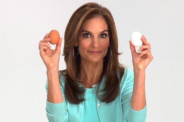 xóa nếp nhăn với lòng trắng trứng gà
