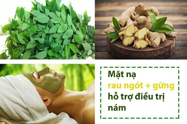 rau ngót có tác dụng gì cho da, tác dụng của rau ngót với da, uống nước rau ngót sống có tác dụng gì, đắp mặt nạ rau ngót có tác dụng gì