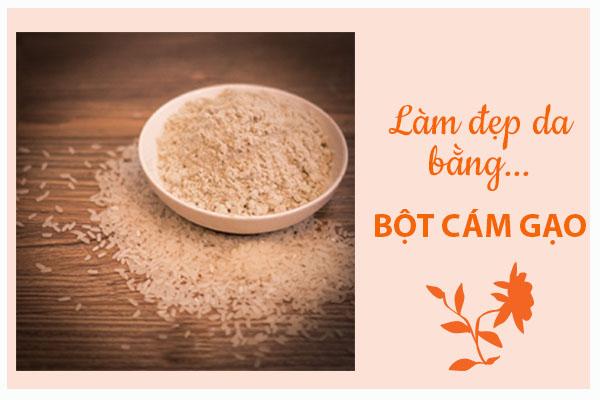 Nghía qua cách làm đẹp da bằng bột cám gạo giúp chị em khỏe đẹp từ trong ra ngoài