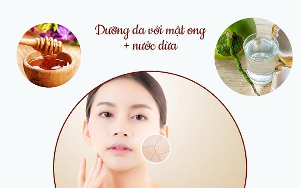 nước dừa, tác dụng của nước dừa với da mặt, tác dụng của nước dừa với da, dừa