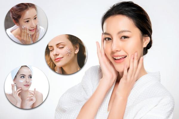 3 bước chăm sóc da mặt cơ bản – Da căng bóng, sáng mịn không tì vết với bí quyết chăm sóc da hiệu quả này