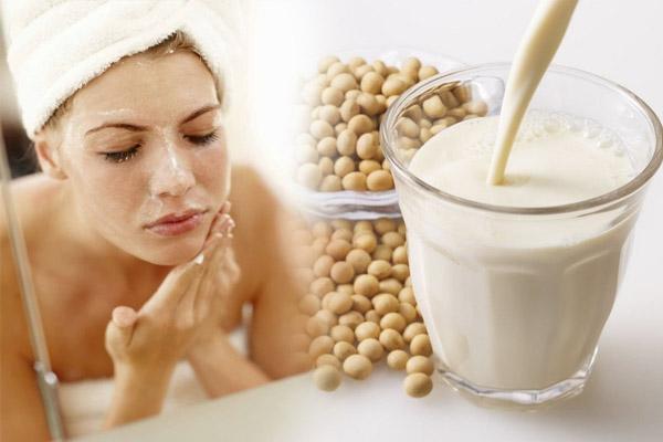 cách chăm sóc da bằng sữa đậu nành, chăm sóc da bằng sữa đậu nành, sữa đậu nành, đậu nành