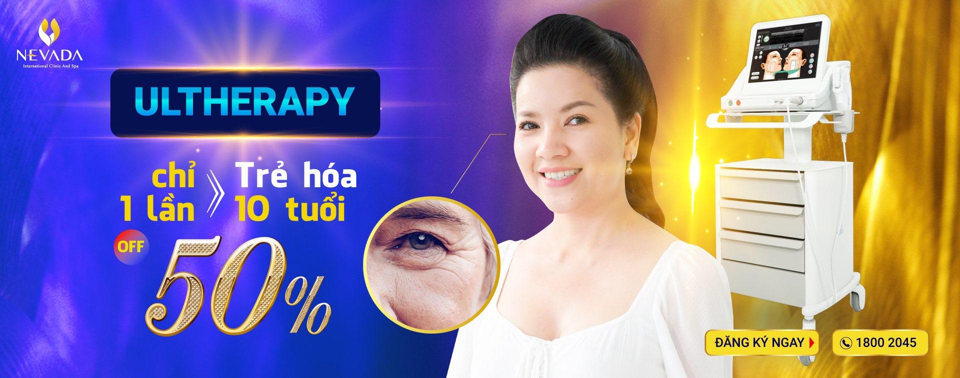 khuyến mãi công nghệ Ultherapy