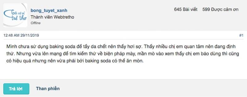 tẩy da chết bằng baking soda có tốt không, tẩy da chết bằng baking soda, tẩy tế bào chết bằng baking soda