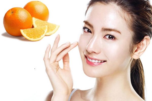 cách làm mặt nạ từ quả cam, mặt nạ từ quả cam